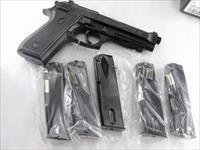 Beretta 92S Taurus PT92 PT99 9mm Magazines 15 round Hi Cap New HFC Keymore No go on 92FS Fit New or Old Tauruses Old Berettas Only Buy 3 Ships Free!