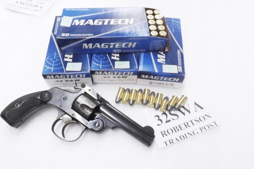 ammo 32 s w short magtech 200 round lot of 4 for sale