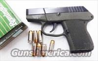 Kel-Tec .380 model P3AT 7 Shot Green Polymer & Blue Steel .795 Flat   NIB  Keltec tech teck 380 Automatic P3ATBGRN 00070