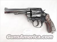 Taurus .38 Special Model 82 Blue 4 inch Heavy Barrel 38 Spl 6 Shot Steel Frame ca 1990 VG Cond.