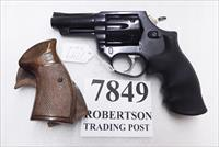 Astra Spain .38 Special Police model Large Frame Revolver 6 Shot 3 inch Blue Steel 2 Sets of Grips Very Good 1985 Guernica Vitoria Basque Municipal Police Issue +P OK
