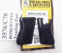 CZ50 CZ70 Grips Triple K Black Polymer 3576G New No Screw or Escutcheon Included Authentic Correct Copy VZ50 Vzor 70 Buy 3 Ships Free