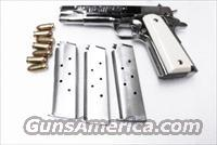 Colt 1911 Government type HFC Stainless 7 Shot Magazines New XM121SS