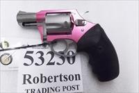Charter Arms .32 H&R Magnum Pink Lady Undercoverette Stainless 2 inch 5 Shot Lightweight Snub 53230