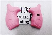 Smith & Wesson Factory Grips J Frame Round Butt Revolvers 36 60 640 642 37 New Takeout Pink Rubber Finger Groove 41308