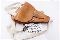 German Leather Shoulder Holster for Makarov PPK P64 size pistols East German Police 1980s Production Excellent MDL1A