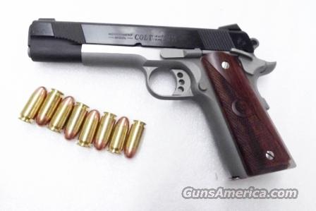 Colt .45 ACP model Combat Elite Blue Slide and ... for sale