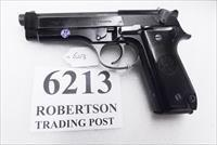 Beretta 9mm model 92S Italian MPs JS92F300M type / ancestor c1978 VG  Factory Brunitron Frame & Slide, Black Oxide Barrel, w1 15 round Magazine VRRO
