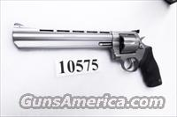 Taurus .44 Magnum model 44 Stainless 8 3/8 inch Ported Full Lug Black Blade Adjustable 44 Mag Special Interchangeably Double Action Revolver 2444089