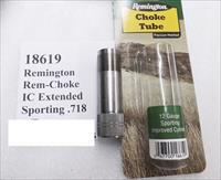 Remington Factory Rem-Choke Tubes .718 Improved Cylinder Extended Stainless 19166 Pro-Bore type New Old Stock Buy 3 Ships Free!