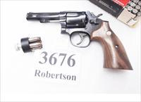 Smith & Wesson .357 Magnum Model 13-4 Blue 4 inch Heavy Barrel 1992  Square Butt