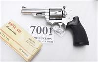 Ruger .357 Magnum Security Six GA34 Stainless 4 inch 1982 production Exc.
