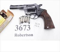 Rohm .38 Special RG38S 4 inch Vent Rib 1980 Production RG Industries Security Service Revolver 38 Spl