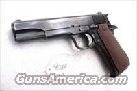 Star Spain 9mm Model BS Colt Government Size Steel Frame 1974 Israeli Police VG 1 Magazine