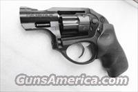 Ruger .22 Magnum model LCR Revolver 6 Shot 2 inch Snub Polymer & Steel Ion Bond Diamondblack® Internal Lock 12# DAO Trigger Centennial Type 351C or Model 43 Competitor 22 Winchester Magnum Caliber