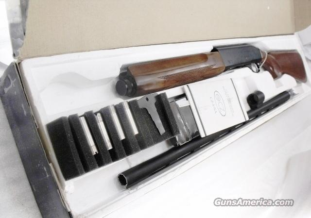 CZ 12 gauge model 712 Magnum Auto 3 1/2 inch 28 Vent Rib Blue Black &  Walnut Near Mint in Box 3 Choke Tubes Huglu Arms Turkey mfg CZ USA Import