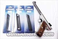 Ruger Mark II Mec-Gar® 10 Shot Magazines .22 LR Mk II Series Pistols Only Mk 2 Blue Steel 22 Long Rifle caliber