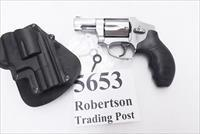 S&W .357 Magnum Model 640-3 Lock Centennial Pinned Black Blade Front 2 1/8 inch Barrel Snub 357 Mag .38 Special Smith & Wesson 163690 Excellent