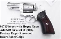 Ruger .357 Magnum GP-100 Stainless 3 inch KGPF331 Old Style Rosewood Insert Grip Option NIB GP100 357 Mag 38 Special 1715