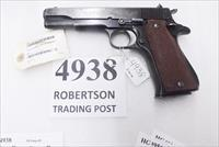Star 9mm model B Super Spanish Army 1972 Blue 5 inch 9 Shot 1 Magazine Super B Colt Government Size