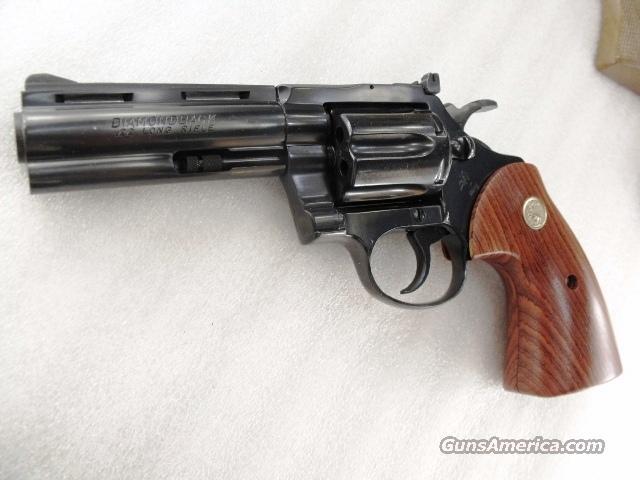 Colt D Frame Diamondback Detective Special Cobr... for sale