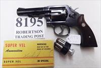 Smith & Wesson .38 Special Model 10-6 Heavy Barrel 2D Prefix 4 inch 1978 Montreal Police Department Blue with Magna Grips Good Condition
