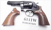 Smith & Wesson N Frame Square Butt Target Herretts Walnut Revolver Grips 6111W S&W Medallions Speedloader Compatible New Models 25 27 28 29 57 625 629