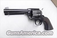 Colt Single Action Army Clone HWS Bounty Hunter .357 Magnum EAA Import mfg H. Weirauch Suhl Germany 4 1/2 in Blue & Walnut 357 Mag 38 Special NIB  770061