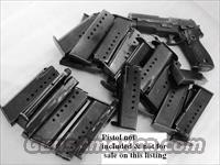 3 Sig 9mm P6 P225 Factory German 8 Shot Magazine 3x$23 Sig-Sauer Dovetailed Steel 1980s Production Very Good 34225605