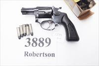 Rossi .38 Special model 68 Blue 2 1/4 in Snub 5 Shot Grips 38 Smith & Wesson Special Caliber 36 Chief's Special Copy Interarms 1980s Non +P