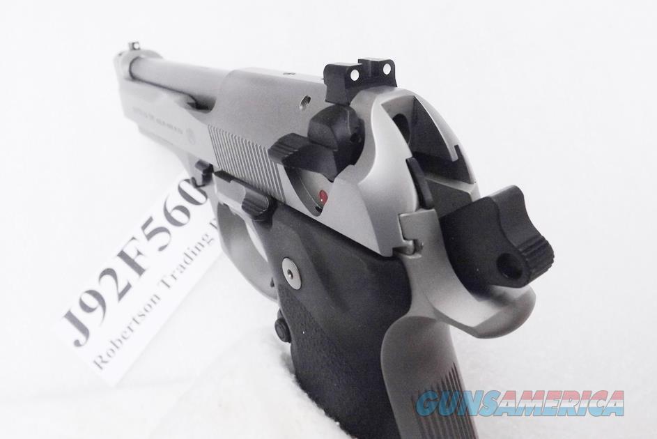 Beretta 9mm model 92FS Brigadier J92F560 J92F560M CA MA OK Near Mint to  Unfired in Box 2 Magazines 10 or 15 Round