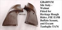 Wholesale Lot of 24 Mix or Match New Grips Imitation Ivory for 1911 Colt, K L N Smith & Wessons; Walnut for Rossi and Rough Rider $10.99 each Free Ship Lower 48