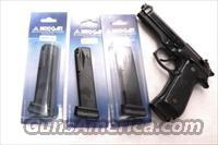 3 or More Beretta 96 series .40 S&W Mec-Gar 15 shot Magazine Anti Friction NIB $39 per on 3 or more