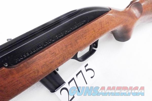 Mossberg  22 LR model 702 Plinkster CBC Brazil 10 Shot Clip Fed Blue &  Hardwood Lightweight Auto Stock Blem Factory Box 22 Long Rifle Caliber 37011