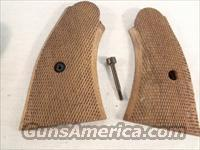 Grips S&W N Square Magna Service Type Square Butt Old Models Checkered Walnut Model 1917 Type 27 28 29 629
