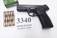 Ruger 9mm 9E  Semi Auto SR9 Type  Blue & Polymer Stainless Barrel Ambidextrous Safety 3 Dot Sights NIB 1 Magazine 3340 03340