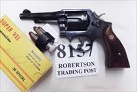 Smith & Wesson .38 Special Model 10-5 Pencil 4 inch 1973 Montreal Police Department Blue with Magna Grips