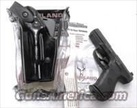 Safariland Duty Holster SSII Smith & Wesson 99 Walther 99QA 990 also Glock 17 22 Left Hand Shooter 62808492 Safari-Laminate Black Basketweave 2 1/4 inch Slots Tactical Light Unissued with Spacer for Pistols without Lights also fits models 1
