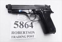 Beretta 9mm model 92S Italian Military Police VG c1978 w1 15 round Magazine Factory Gloss Anodized Frame, Oxide Finish Slide & Barrel VGM