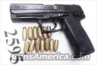 H&K .45 USP Variant 3 VG 1997 Roanoke VA PD Heckler & Koch USP 45 Automatic V III  13 Shot with 1 Magazine 214814 Firearm Handgun Pistol 45 Automatic H&K HK 704503