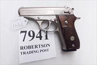 Bersa .380 ACP model 85 Nickel Wood 14 Shot Beretta 84 type Double Action 1994 Production No Lock