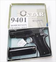 Star Spain 9mm Model BM 9 Compact Spanish Guardia 1978 Blue Very Good Condition 3 3/4 inch PD Size Colt Defender Ancestor Steel 9 Shot BM9 BM-9 Spain