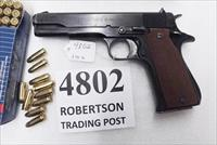 Star 9mm model B Super Spanish Army 1971 Very Good with Star Box 5 inch 9 Shot 1 Magazine Super B Colt Government Size
