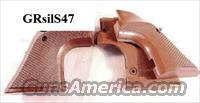 Grips Ruger Super Blackhawk Oversize Target Sile Walnut Mint Condition 1980s 44 Magnum Dragoon Style Trigger Guard Only