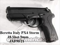 Beretta 9mm PX4 Storm 18 Shot with 2 High Capacity Mags NIB PX-4 JXF9F21