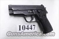 Sig .40 S&W Model P-229 Black Stainless 13 Shot 2 Magazines VG ca 2002 Beverly MA Police Dept Sig Sauer Arms E29R40BU
