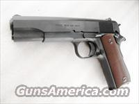 Auto Ordnance 45 ACP 1911A1 WWII Government Parkerized Kahr mfg NIB .45 Automatic GI World War II Type