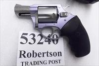 Charter Arms .32 H&R Magnum Lavender Lady Undercoverette Stainless 2 inch 5 Shot Lightweight Snub 53240