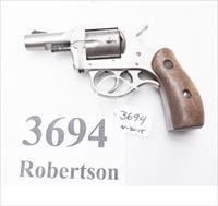 H&R .32 Magnum NEF model R73 Nickel 2 1/2 inch Snub 5 Shot Good Condition 1991 Harrington & Richardson .32 Smith & Wesson Long cartridge compatible R73021