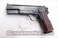 FEG 9mm Hi-Power Israeli Vent Rib Commander Hammer VG ca 1978 with Mec-Gar 10 Shot Magazine